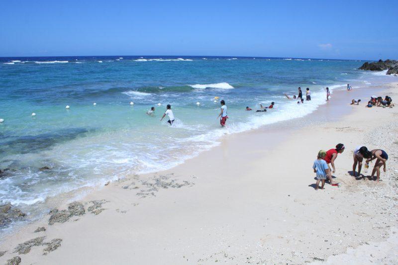 屋子母海岸